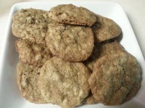 Oatmeal - Flax Chocolate Chip Cookies