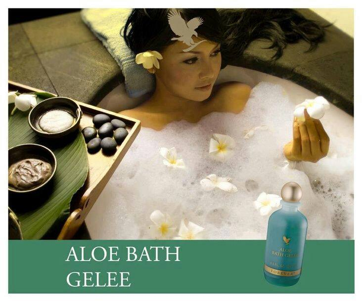 how to use aloe bath gelee