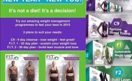 "JOIN the ""F.I.T."" REVOLUTION – It's not a diet It's a DECISION to a healthier lifestyle."